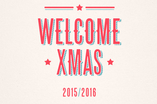 Welcome xmas